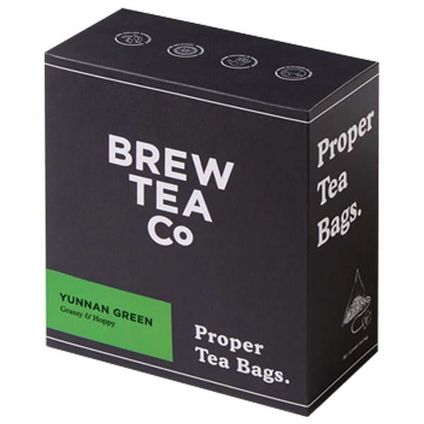 Brew Tea Bags - Green Tea - 1x100 Black Bag