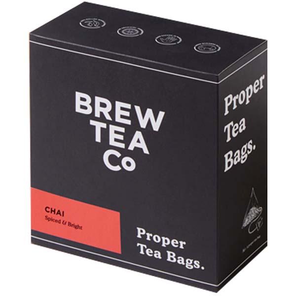 Brew Tea Bags - Chai Tea - 1x100 Black Bag