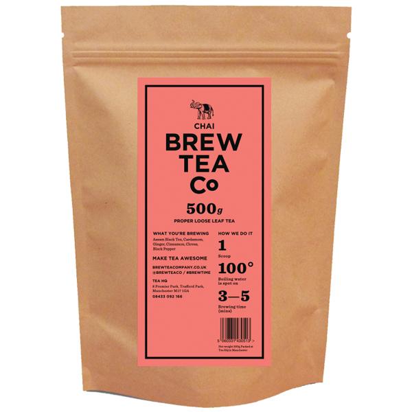 Brew Tea - Loose Leaf - Chai Tea - 1x500g
