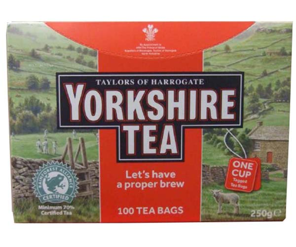 Yorkshire Tea St/Tag (Bags) - 6x100