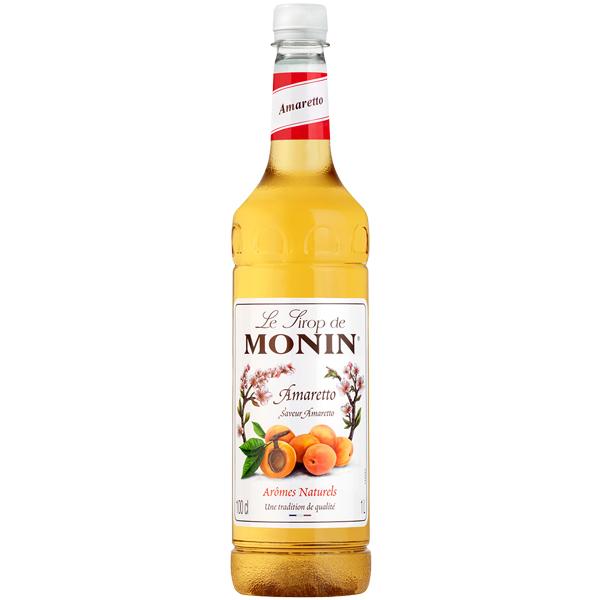 Monin - Plastic - Amaretto Syrup - 1x1L