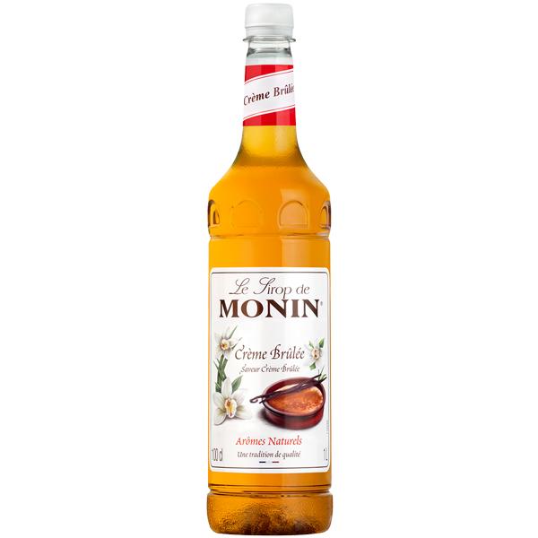 Monin - Plastic - Creme Brulee Syrup - 1x1L