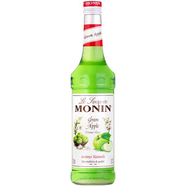 Monin - Glass - Green Apple Syrup - 1x700ml