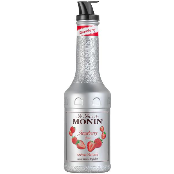Monin - Plastic - Strawberry Puree - 1x1L