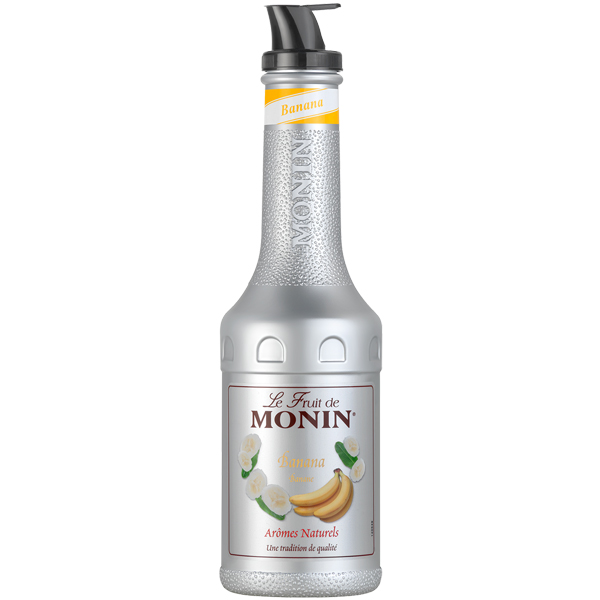 Monin - Plastic - Banana Puree - 1x1L