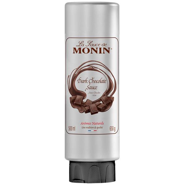 Monin - Plastic - Dark Chocolate Sauce - 1x500ml