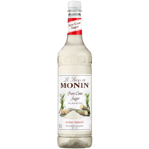 Monin - Plastic - Pure Cane Sugar Syrup - 1x1L
