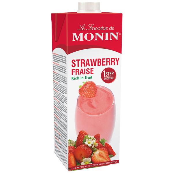 Monin - Carton - Strawberry Smoothie - 1x1L