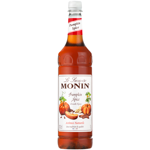 Monin - Pumpkin Spice Syrup - 1x1L