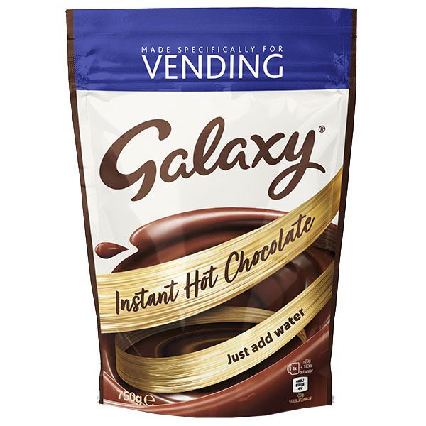 Galaxy - Hot Chocolate Powder Vending - 1x750g