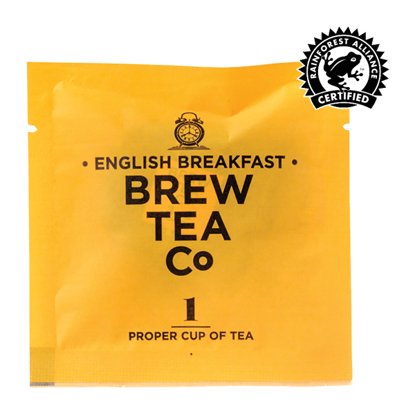 Brew Tea - Env Tea Bags - English Breakfast - 1x100 Box