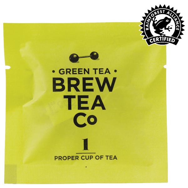 Brew Tea - Env Tea Bags - Green Tea - 1x100 Box