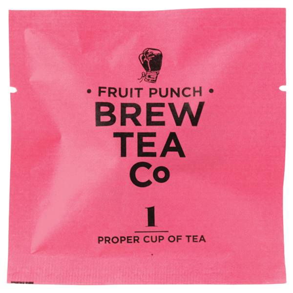 Brew Tea - Env Tea Bags - Fruit Punch - 1x100 Box