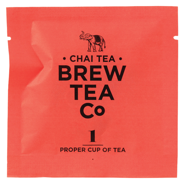 Brew Tea - Env Tea Bags - Chai Tea - 1x100 Box