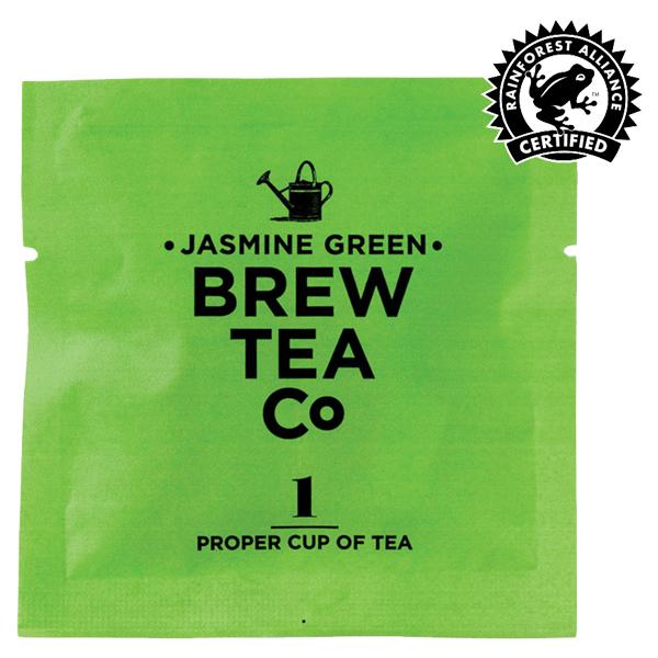 Brew Tea - Env Tea Bags - Jasmine Green Tea - 1x100