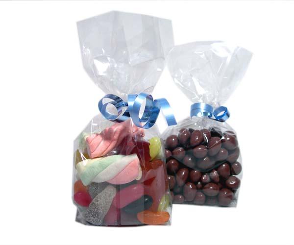Foil Bottom Clear Bags - 100x180Mm -  Qty 100