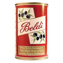 Pitted Black Olives - 1x4.3kg