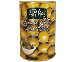 Pitted Green Olives - 1x4.15kg