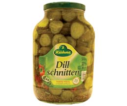 Sliced Gherkins Jar - 1x2.45kg