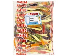 Haribo Giant (Yellow Bellies) Snakes  x 3kg Bag