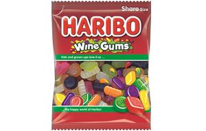 Haribo Grab Bags - Wine Gums - 12x140g