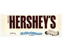 Hersheys - 36x43G - Cookies & Cream