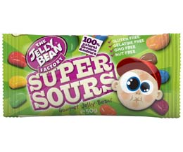 Jelly Bean Factory - Sour Mix Sachets - 24x50g