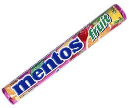 Mentos - Fruit - 40x38g