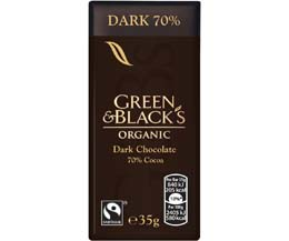 Green & Blacks - Dark - 30x35g