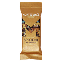 Montezumas - Splotch - Organic 51% Milk Chocolate & Butterscotch - 26x25g
