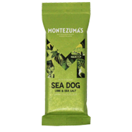 Montezumas - Seadog Dark Chocolate Lime & Sea Salt - 26x30g