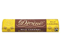 F/T Divine - Caramel Milk Choc - 30x35g