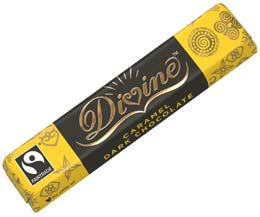 F/T Divine - Dark Choc With Caramel - 30x35g