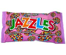 Milk Chocolate Flavoured Jazzies - 24x40g