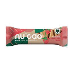 Nucao - Vegan - White Raspberry Crisp - 12x40g