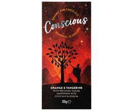 Conscious Chocolate - Orange & Tangerine - 10x30g