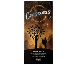 Conscious Chocolate - Four Nuts - 10x30g