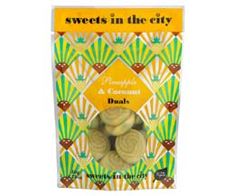 Sweets In The City - Pineapple & Coconut Duals - 10x50g