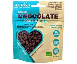 Nutrilicious - Chocolate Protein Bites - Dark - 12x30g