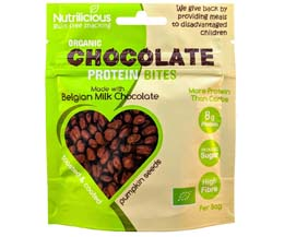 Nutrilicious - Chocolate Protein Bites - Milk - 12x30g