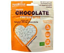 Nutrilicious - Chocolate Protein Bites - White - 12x30g