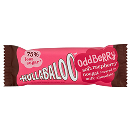 Hullabaloo - Oddberry - Milk Chocolate Raspberry Nougat - 15x26g