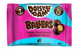 Doisy & Dam - Dark Chocolate Ballers - 18x25g