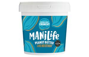 Mani-life Peanut Butter - Original Roast Crunchy - 1x1kg