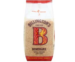 Billingtons - Fair Trade Demerara Sugar - 10x500g