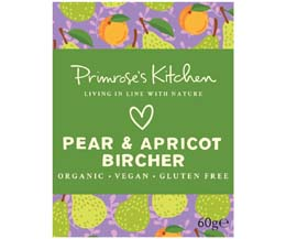 Primrose's Kitchen - Org Pear Apricot Bircher - 24x60g