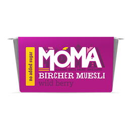 Moma Bircher Muesli - Wildberry - 6x220g