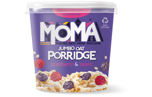 Moma Porridge - Cranberry & Raisin - 12x70g