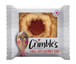 Mrs Crimbles - Jam Coconut Ring - 24x40g
