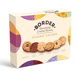 Border Biscuits - Classic Collection Rectangle - 6x400gm